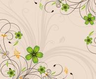 background floral Стоковое Изображение RF