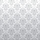 Background floral gray pattern Royalty Free Stock Photo