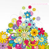 Background floral illustration Stock Photos