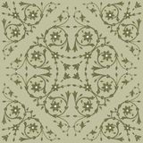Background with floral ornament Royalty Free Stock Image