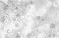 Background with floral ornaments Stock Photography