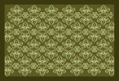 Background with floral ornaments and flourishes. Rhythmically repeating Royalty Free Stock Images