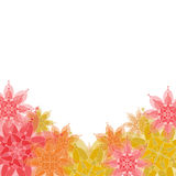 Background with floral ornaments. Royalty Free Stock Photography