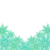 Background with floral ornaments. Stock Images