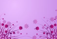 Background floral pink Royalty Free Stock Image