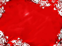 Background Floral Red Stock Photography