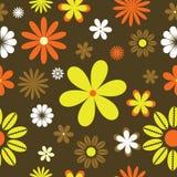 background floral retro Στοκ Εικόνα