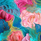 Background floral, roses Stock Photo