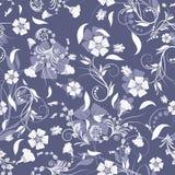 background floral seamless 免版税库存图片