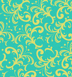Background of  Floral Spiky Swirls Royalty Free Stock Images