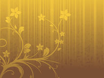 Background with flourish Royalty Free Stock Image