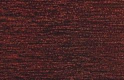 Background flow. Background, parralelny stream of burgundy lurex yarn Stock Photo