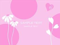The Background flower vector illustration