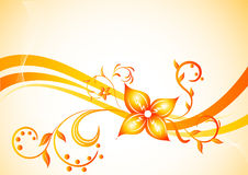 Background with flower Royalty Free Stock Photography