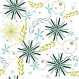 Background flower. Wallpaper leaves seamless Stock Photo