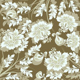 Background with flower stock illustration