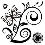 Background flower black white. Background wallpaper flower black white bw illustrations vector illustration