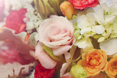 Background of flower bouquet Stock Images