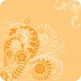 Background flower, elements for design, vector. Illustration Royalty Free Stock Photo