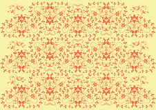 Background flower, elements for design, vector. Illustration Stock Photos