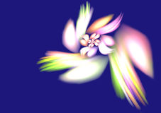 background flower fractal Στοκ Εικόνες