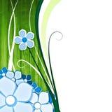 background flower green Διανυσματική απεικόνιση