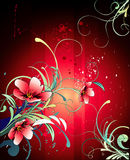 Background flower illustration Stock Images