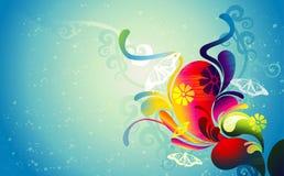 Background flower illustration Stock Photos