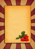 Background with flower motive royalty free illustration