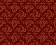 Background with flower pattern. A seamless background with flower pattern Royalty Free Stock Photography