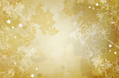 Background with a flower sakura Royalty Free Stock Photo