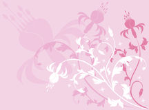 Background flower, vector Royalty Free Stock Image
