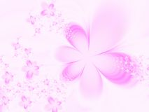 Background with flowers Royalty Free Stock Images
