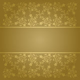 Background flowers baroque Royalty Free Stock Image