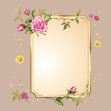 Background with flowers Royalty Free Stock Photos