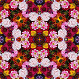 Background from flowers ornament, pattern. Royalty Free Stock Photo