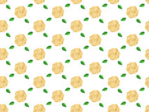 Background flowers roses pattern seamless vector illustration Stock Image
