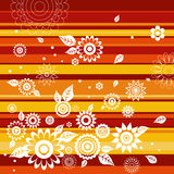 Background of  flowers, vector Royalty Free Stock Image