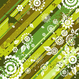 Background of  flowers, vector Stock Images