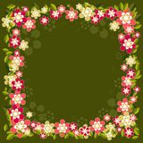 Background with flowers,vector Stock Images
