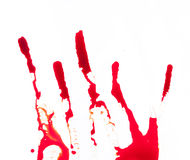 Background with flowing blood Stock Images