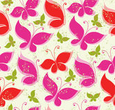 Background fluttering butterflies. Stock Photography
