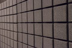 Background of foam panels for sound insulation in the studio. Background of square foam panels for sound insulation in the studio royalty free stock photography
