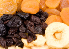 Background fom dried fruits Stock Photography