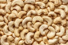 Background food cashew nuts stock photography