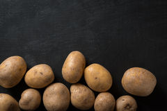 Background Food Potatoes Stock Photography