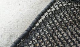 Background of foot scraper( or door mat) texture Stock Photos
