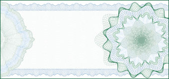 Background For Gift Certificate, Coupon Stock Images