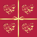 Background For Valentine S Day Stock Photo