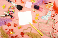 Background For Womens Day Stock Photo
